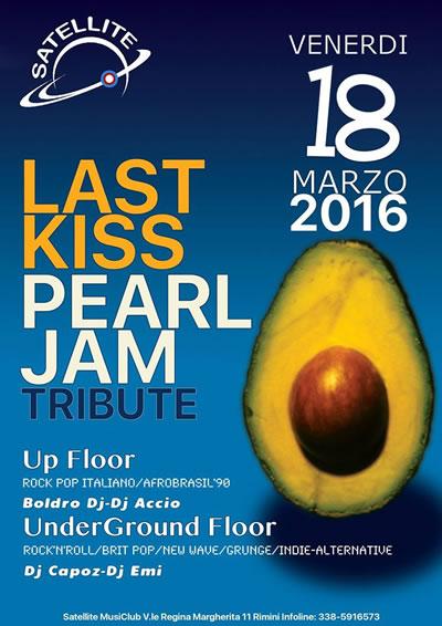 Al Satellite Rimini per brindare in onore di Pearl Jam