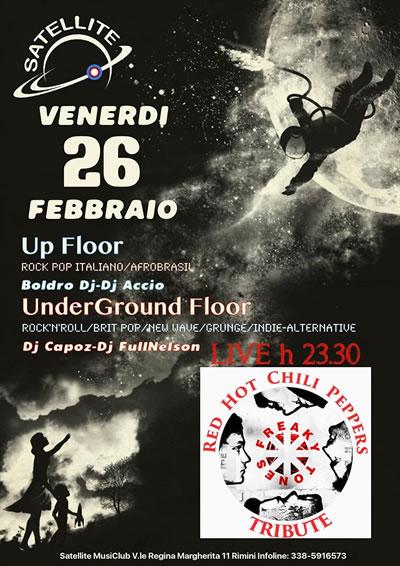 Venerdì di tributi al Satellite Rimini con i Freaky Tones