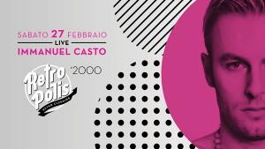 Ritorna Retropolis al Velvet Rimini con Immanuel Casto