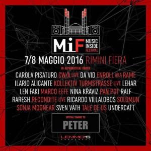 Vieni al primo Music Inside Festival di Rimini Fiera.