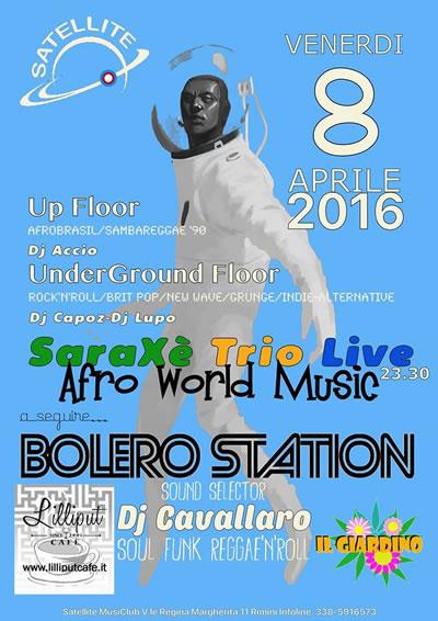 Tutta la musica Nera per una notte al Satellite Rimini