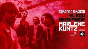 Un doppio concerto al Velvet Rimini con i Marlene Kuntz e Slego Remember