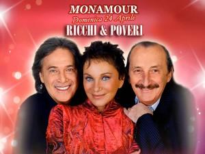 I Ricchi & Poveri tornano in riviera al Mon Amour