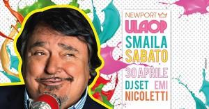 Smaila apre la stagione al Newport Rimini