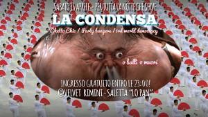 La Condensa in concerto al Velvet Rimini