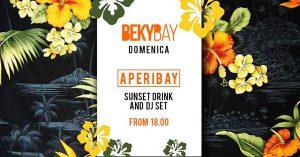 Il BekyBay festeggia la domenica con Sunset Drink e Dj Set