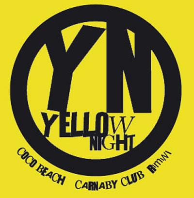 Torna la Yellow Night sulla spiaggia di Rimini e al Carnaby