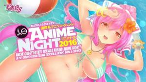 Anime Night 2016 all'Io Club di Rimini
