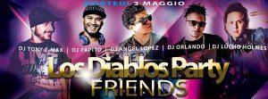 Tutti i martedì festa latina all'Io Club con i Los Diablos