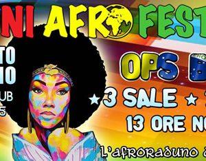 Rimini Afro Festival 2016 all'Ecu di Rimini