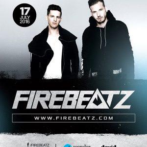 Il duo elettronico Firebeatz in consolle all'Altromondo Studios