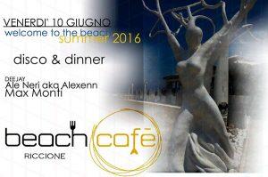 Weekend sulla spiaggia al Beach Café di Riccione