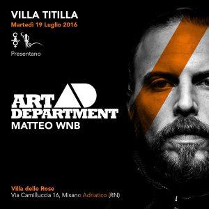 Art Department ospite a sorpresa alla Villa Titilla