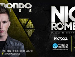 Nicky Romero in arrivo per il Ferragosto dell'Altromondo Studios