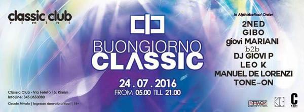 buongiorno classic 24 lug 2016