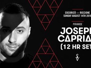 12 hr di Cocorico con Joseph Capriati