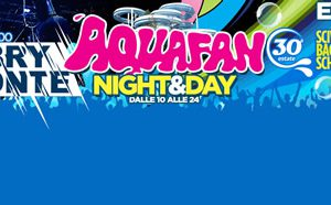 Schiuma Party Aquafan Riccione ogni domenica con Gabry Ponte