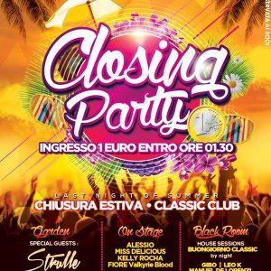 Pool party tutti i sabati al Classic Club Rimini