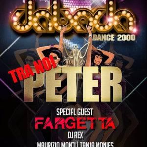 Fargetta special guest al Peter Pan Riccione