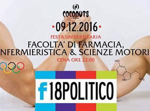 Coconuts Rimini: Farmacia Vs Scienze Motorie