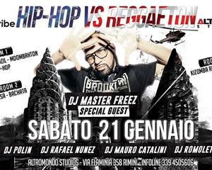 Arriva la grande sfida all'Altromondo. Hip Hop Vs Reggaeton 2017