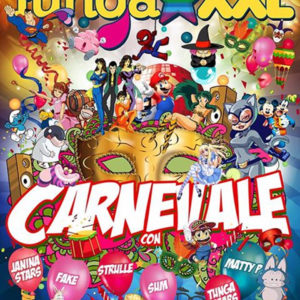 Carnevale TUNGA XXL all'Altromondo Studios