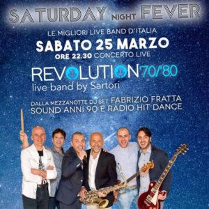Saturday night fever al Frontemare