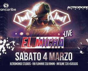 El Micha live al sabato Altromondo