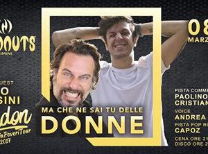 Festa della donna al Coconuts con Gordon e Dario Cassini. Non puoi mancare!