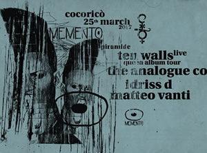 Cocorico Riccione presenta Memento Night