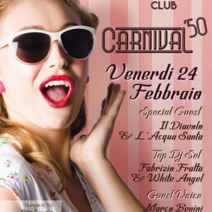 Carnevale anni 50 al Frontemare Rimini