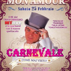 Mon Amour presenta il più grande carnevale di Rimini