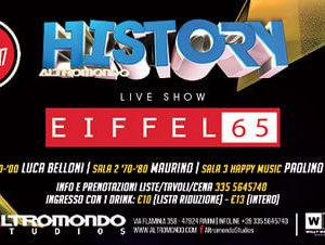 Rivivi gli anni 90 con gli Eiffel 65 all'Altromondo History