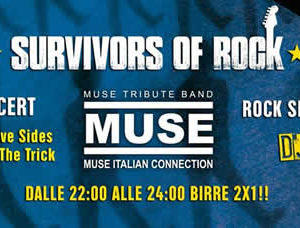 Tutti i sabati al Bikini Cattolica Survivors of Rock