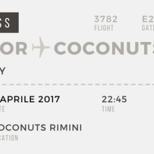 Festa Beijafloor, sabato al Coconuts