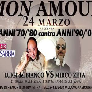 Monamour presenta: Anni 80 vs Anni 90
