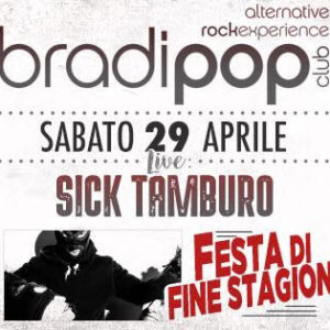Arriva il sabato Rock del Bradipop Rimini