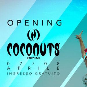 Il venerdì caldo del Coconuts Rimini