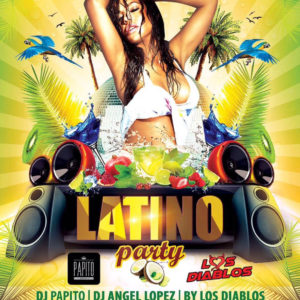 Party Latino nel giardino dell'Ecu Rimini