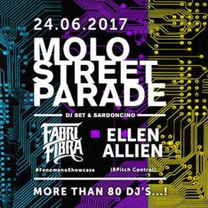 Molo Street Parade 2017: Fabri Fibra, Ellen Allien + 80 djs