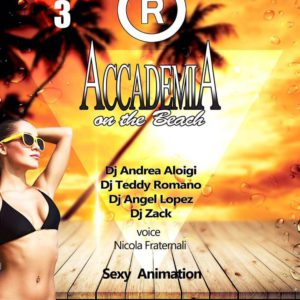 Divertiti al Reset Club Riccione con la serata Accademia on the Beach