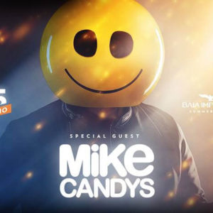 Mike Candys si scatena alla Baia Imperiale