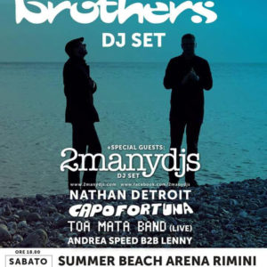 The Chemical Brothers inaugurano il Summer Beach Arena