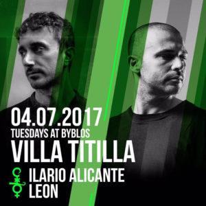 Ilario Alicante alla conquista della Villa Titilla