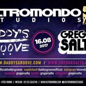 Daddy's Groove e Gregor Santos animano il nuovo Schiuma Party Altromondo