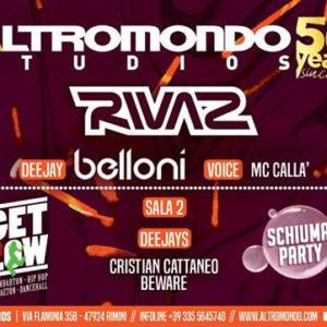 Super serata all'Altromondo Studios con Dj Rivaz