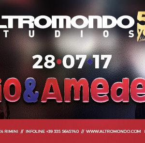 Pio & Amedeo si scatenano all'Altromondo Studios