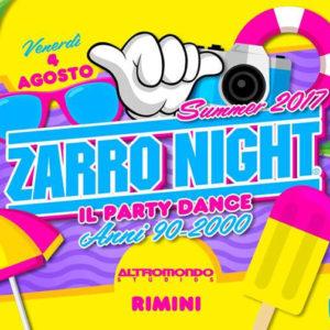 Serata da delirio all'Altromondo Studios. Arriva il party Zarro Night