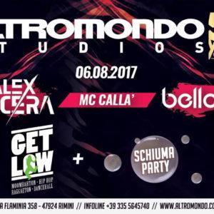Alex Nocera conquista lo Schiuma party Altromondo Studios