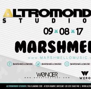 Il re dell'EDM Marshmello all'Altromondo Studios